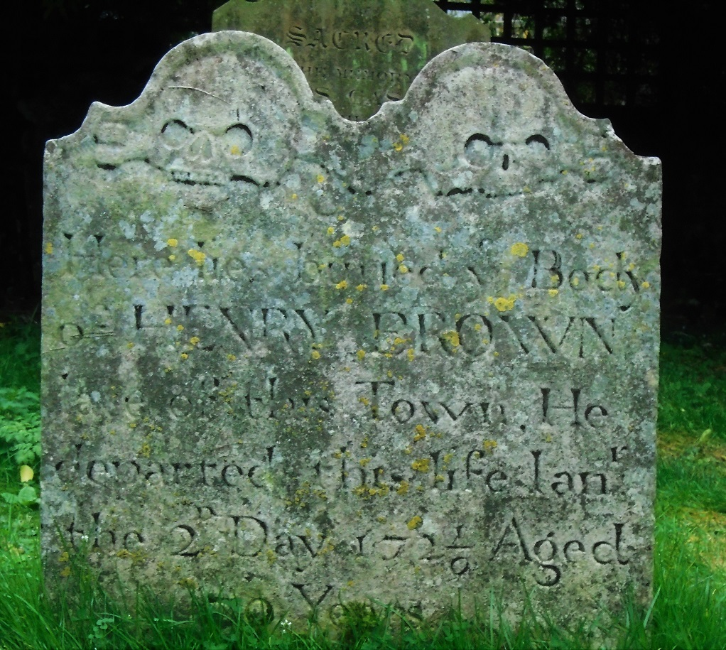 This image has an empty alt attribute; its file name is fordwich-grave-skulls-date.jpg